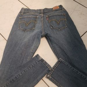 Levi's 524 too superlow style Jeans. Size 7 med
